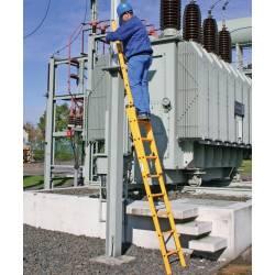 Диэлектрические лестницы - безопасность на высоте