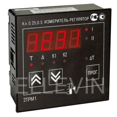 Измеритель-регулятор двухканальный 2ТРМ1-Щ1.У.РР