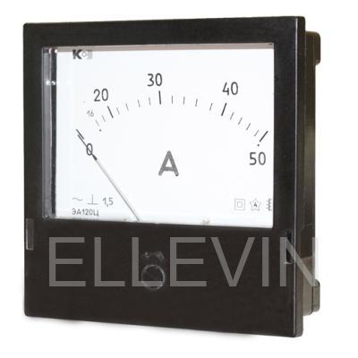 Амперметр ЭА120Ц 75/5А через тр-р тока 5А