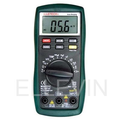 Мультиметр: MS8221C