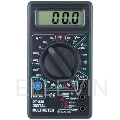 Мультиметр: DT-838