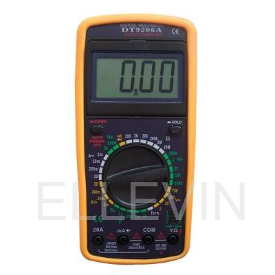 Мультиметр: DT9206A