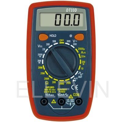 Мультиметр: DT-33D