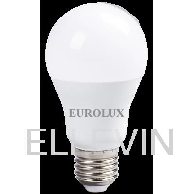 Лампа светодиодная EUROLUX LL-E-A60-15W-230-4K-E27