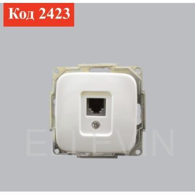 Розетка для телефона 4-х контактная (Cat.3)