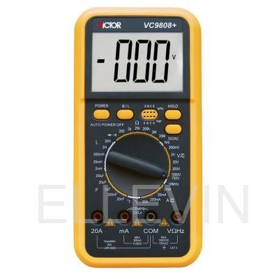 Мультиметр  DT-VC9808+