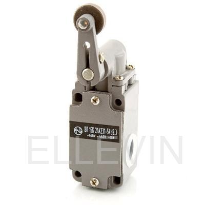 Выключатель путевой: ВП15К21А(Б)231-54У2.8  (рычаг с роликом, прямого действия)