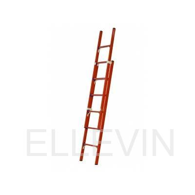 Лестница стеклопластиковая приставная раздвижная диэлектрическая  ЛСПРД-4,0 Евро