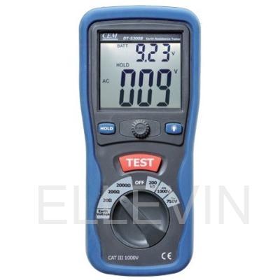 Измеритель сопротивления заземления: DT-5300B