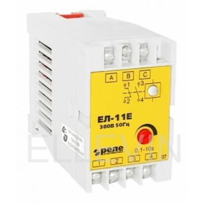 Реле контроля фаз Реле и Автоматика ЕЛ-11Е 380В 50Гц 19506