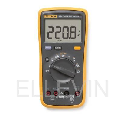Мультиметр цифровой  FLUKE-15B+ с поверкой
