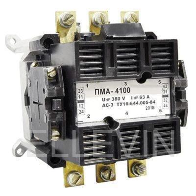 Пускатель электромагнитный  ПМА 4100 380В