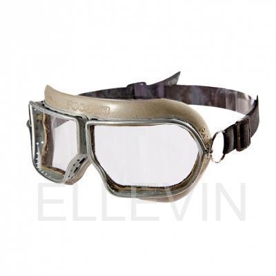 Очки защитные закрытые  с прямой вентиляцией ЗП1 PATRIOT