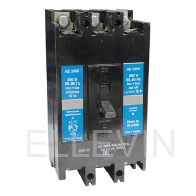 Выключатель автоматический: АЕ 2066-100-00 УЗА 63А