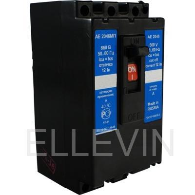 Выключатель автоматический: АЕ 2046МП-100-00У3А 31.5А