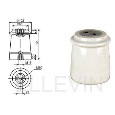 Изолятор  ИО-10-3,75 II У3 опорный