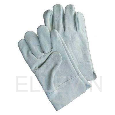Перчатки цельноспилковые серые