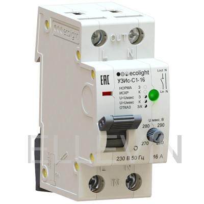 Устройство защиты от искрения EcoEnergy УЗИс-С1 16А