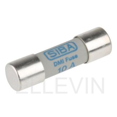 Предохранитель SIBA 10 А, 250 В, 6.3х32 мм