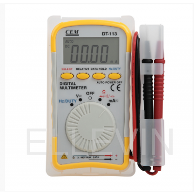 DT-113 Мультиметр цифровой