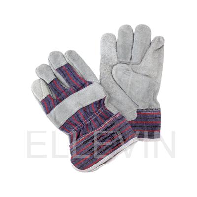 Перчатки спилковые П-1