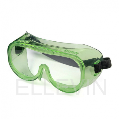 Очки защитные закрытые: с прямой вентиляцией ЗП8 ЭТАЛОН (PC)