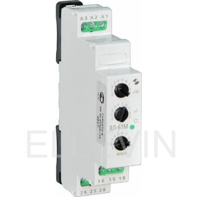 Реле времени ВЛ-61М 0,1с...9,9ч, 24В 50Гц/пост., 220В 50Гц