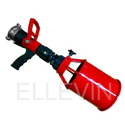 Ствол пожарный ручной  перекрывной СРП-50Р с пенной насадкой